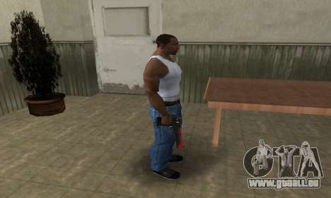 Red Tiger Deagle pour GTA San Andreas troisième écran