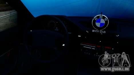BMW M5 E34 Gradient pour GTA San Andreas vue de droite