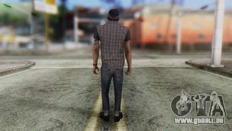 Biker Skin from GTA 5 für GTA San Andreas zweiten Screenshot