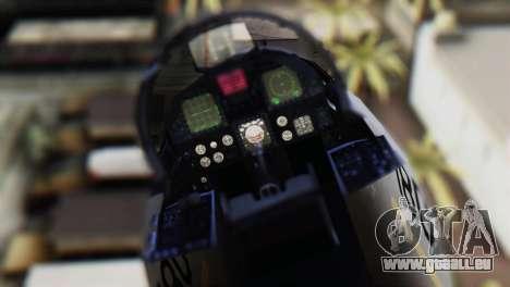 F-22J Japan Air-Self Defense Force pour GTA San Andreas vue arrière