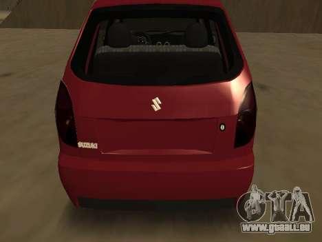 Suzuki Fun 2009 für GTA San Andreas rechten Ansicht