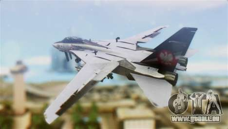 F-14D Super Tomcat Polish Navy für GTA San Andreas linke Ansicht