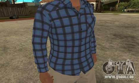 Skin Claude [HD] pour GTA San Andreas deuxième écran