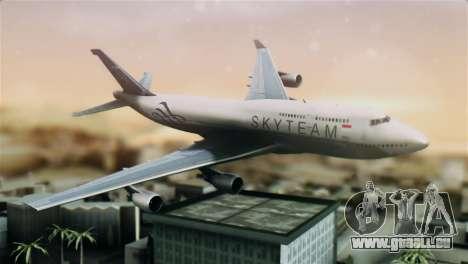 Boeing 747-400 Garuda Indonesia Sky Team für GTA San Andreas