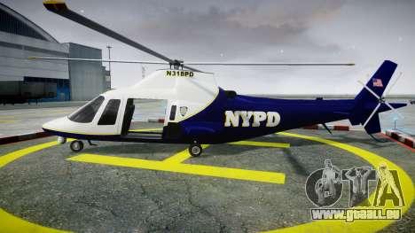 Buckingham Swift NYPD für GTA 4 linke Ansicht