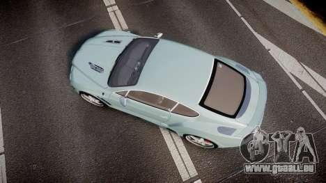 Bentley Continental GT Platinum Motorsports pour GTA 4 est un droit