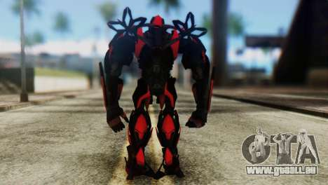 Stinger Skin from Transformers für GTA San Andreas dritten Screenshot