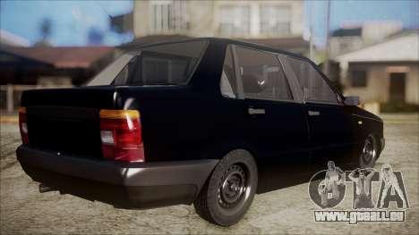 Fiat Duna Al Piso pour GTA San Andreas laissé vue
