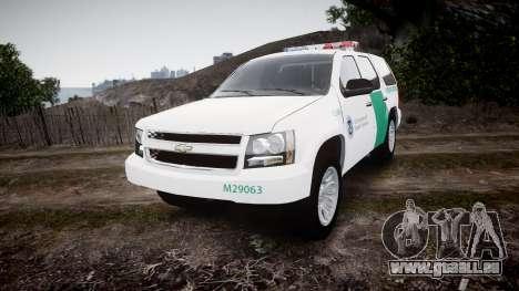 Chevrolet Tahoe Border Patrol [ELS] für GTA 4