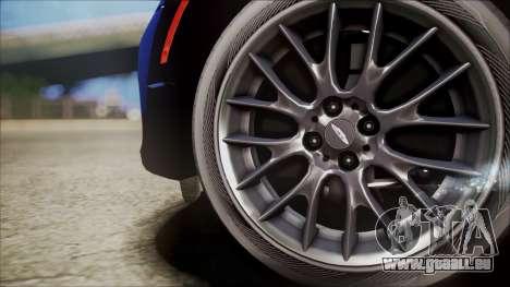 Mini Cooper Clubman 2011 Sket Dance pour GTA San Andreas vue arrière