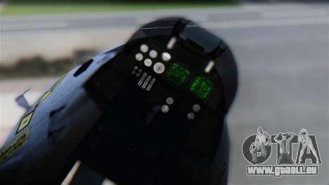 Tomcat FG.Mk.III FAA Sqn. 801 pour GTA San Andreas vue arrière