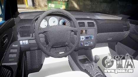 Mazda 626 für GTA 4 Rückansicht