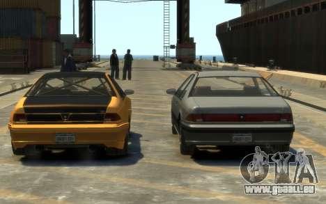 Vapid Fortune Drift pour GTA 4 est une vue de l'intérieur