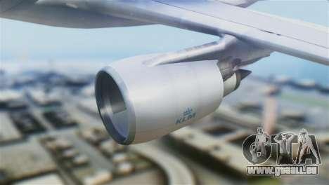 Airbus A330-200 KLM New Livery pour GTA San Andreas vue de droite