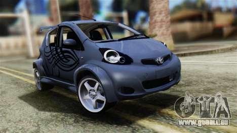 Toyota Aygo Sporting pour GTA San Andreas