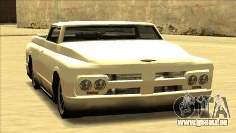 Slamvan Final pour GTA San Andreas vue arrière