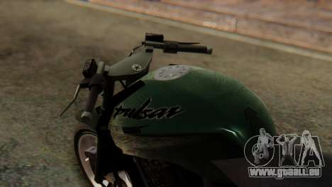 Bajaj Rouser 135 Stunt pour GTA San Andreas vue de droite
