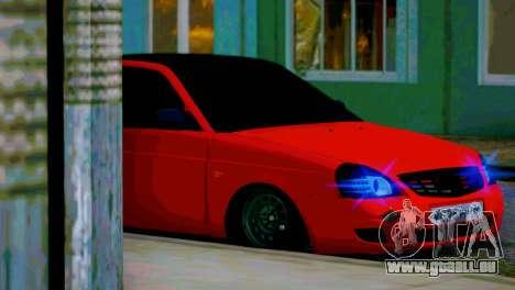 Lada 2170 Priora Le Spartak Moscou pour GTA San Andreas salon