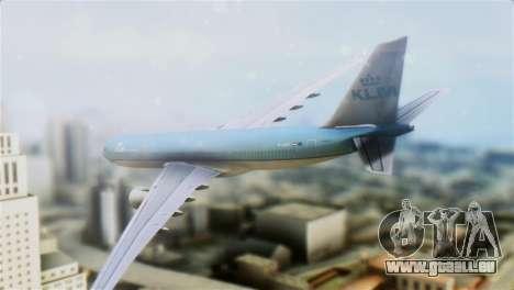 Airbus A330-200 KLM New Livery pour GTA San Andreas laissé vue