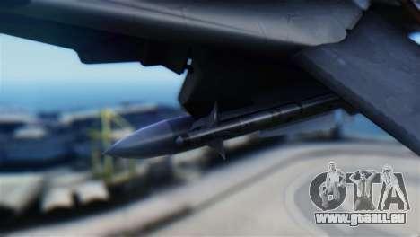 F-14D Super Tomcat Halloween Pumpkin für GTA San Andreas rechten Ansicht