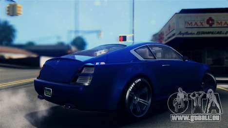 GTA 5 Enus Windsor IVF pour GTA San Andreas laissé vue