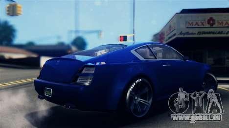 GTA 5 Enus Windsor IVF für GTA San Andreas linke Ansicht
