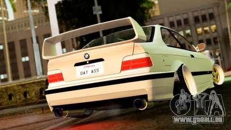 BMW M3 E36 Stance pour GTA San Andreas laissé vue
