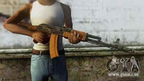 AK-74 pour GTA San Andreas troisième écran