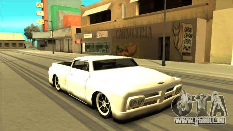Slamvan Final pour GTA San Andreas roue