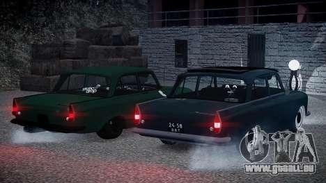 Moskwitsch 412 für GTA 4 Innenansicht