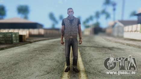 Biker Skin from GTA 5 für GTA San Andreas