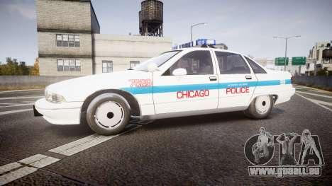 Chevrolet Caprice Chicago Police [ELS] für GTA 4 linke Ansicht