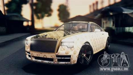 GTA 5 Enus Windsor IVF pour GTA San Andreas vue intérieure