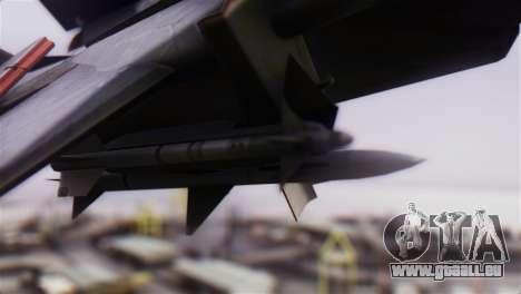 F-14A Tomcat VF-51 Screaming Eagles für GTA San Andreas rechten Ansicht