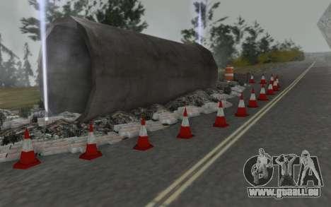 Straßen-Reparatur für GTA San Andreas her Screenshot