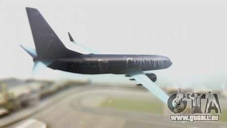 Boeing 737-800 Ryanair Guinness pour GTA San Andreas laissé vue