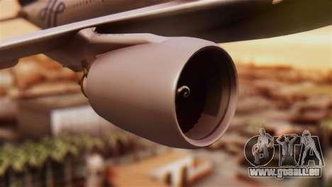 Airbus A330-200 Garuda Indonesia Sky Team für GTA San Andreas rechten Ansicht