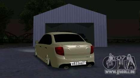 VAZ 2190 Sport pour GTA San Andreas laissé vue
