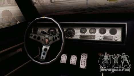 GTA 5 Imponte Dukes IVF für GTA San Andreas rechten Ansicht
