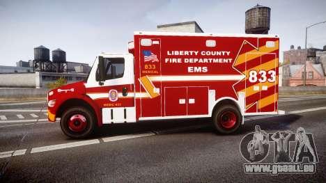 Freightliner M2 2014 Ambulance [ELS] pour GTA 4 est une gauche