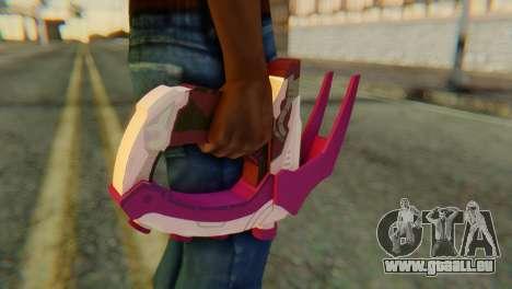 Break Gun pour GTA San Andreas troisième écran