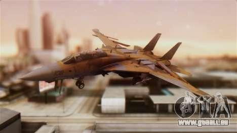F-14A Tomcat NSAWC Brown pour GTA San Andreas