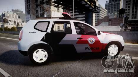 Lada Duster 2015 PMESP [ELS] für GTA 4 linke Ansicht