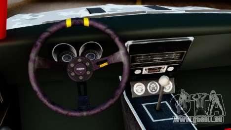 Chevrolet Camaro SS Camo Drift pour GTA San Andreas vue de droite