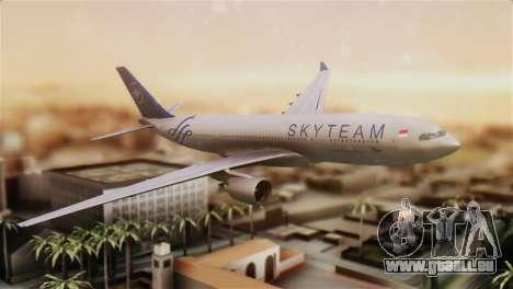 Airbus A330-200 Garuda Indonesia Sky Team für GTA San Andreas