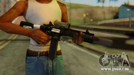 Carbine Rifle from GTA 5 v2 für GTA San Andreas dritten Screenshot