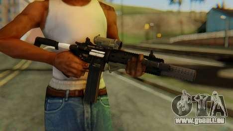 Carbine Rifle from GTA 5 v2 für GTA San Andreas dritten Screenshot