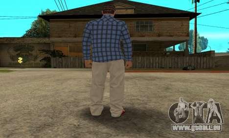 Skin Claude [HD] pour GTA San Andreas sixième écran
