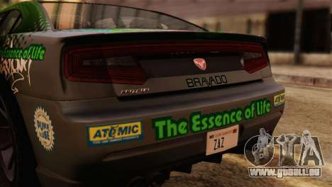 GTA 5 Bravado Buffalo Sprunk IVF für GTA San Andreas rechten Ansicht