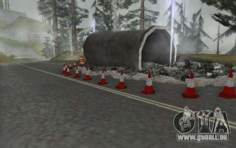 Straßen-Reparatur für GTA San Andreas dritten Screenshot